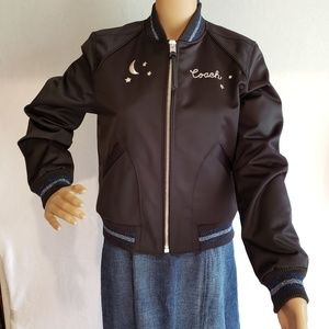 Brand New Coach Black Jacket MSRP $600